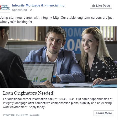 Integrity Mortgage Is Expanding, Now Hiring Loan Originators In Colorado!